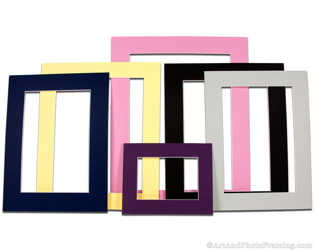 Large Matboard Picture Frame Mat Board Custom Photo Matte Picture ...