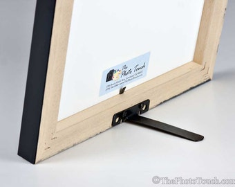 Picture Frame Easel Back | Easel Mate | Easel for Photo Frames up to 11x14 | Frame support stand for DIY framing