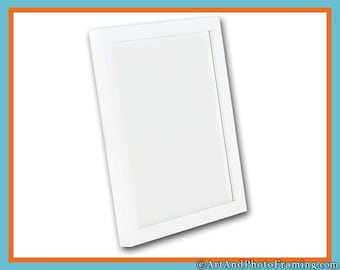16X20 Picture Frame 16X20 White Picture Frame White Frame White Photo Frame 16X20 Photo Frame 16 X 20 Frames Custom Picture Frame 20X16