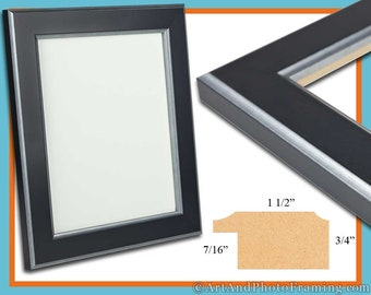 13x19 Picture Frame 13x19 Silver Black Picture Frame 19x13 Wood Picture Frame 13 x 19 Picture Frame 13 x 19 Photo Frame 13x19 Custom Frame