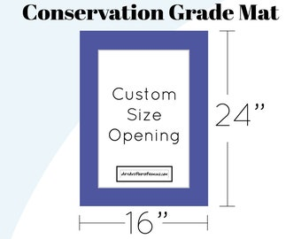 16x24 Mat Board - 16 x 24 Picture Frame Matboard for any size Photo
