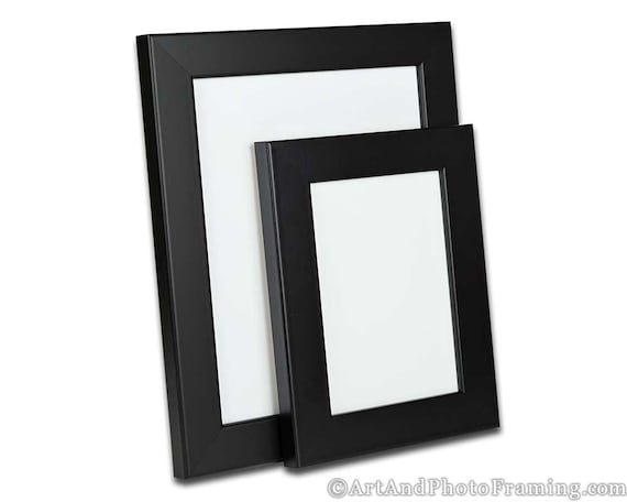 13x19 Picture Frame 13x19 Black Picture Frame 19x13 Wood Etsy