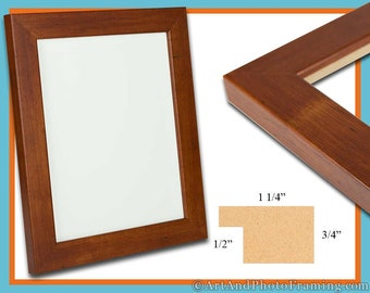 13x19 Picture Frame 13x19 Brown Picture Frame 19x13 Wood Picture Frame 13 x 19 Picture Frame 13 x 19 Photo Frame 13x19 Custom Frame Gift