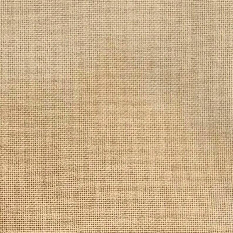 Weak Tea \u2013 Natural Hand dyed 28ct Brittney Evenweave Needlework fabric