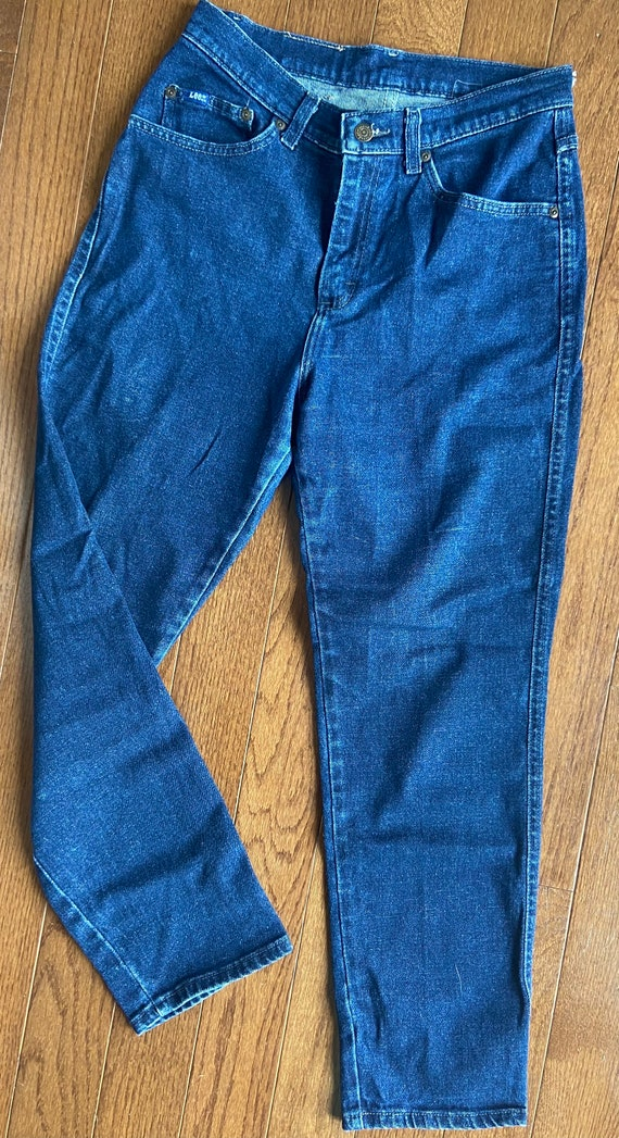 1980's Lee High-Waisted Jeans - image 2