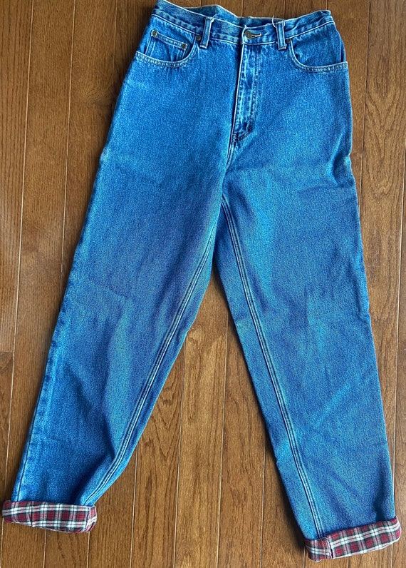 1990's Eddie Bauer Fleece Lined Jeans