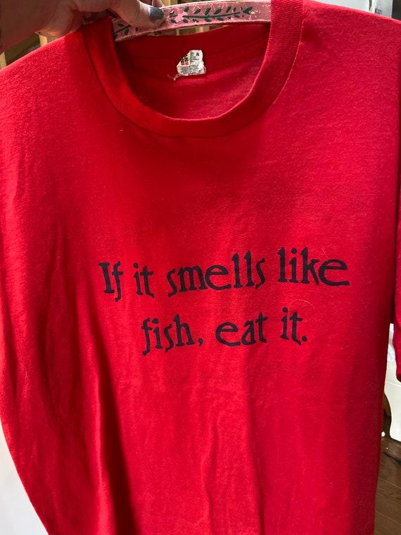 1980's Funny Don's Seafood Shirt