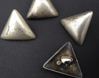 Decorative rivets triangle 4 pcs