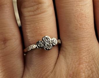 21d9db44029e8 4 stones ring | Etsy