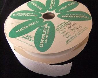 "Ban-Rol Waistband 1 1/2"" Stabilizer Interfacing, 2 2/3 Yards"