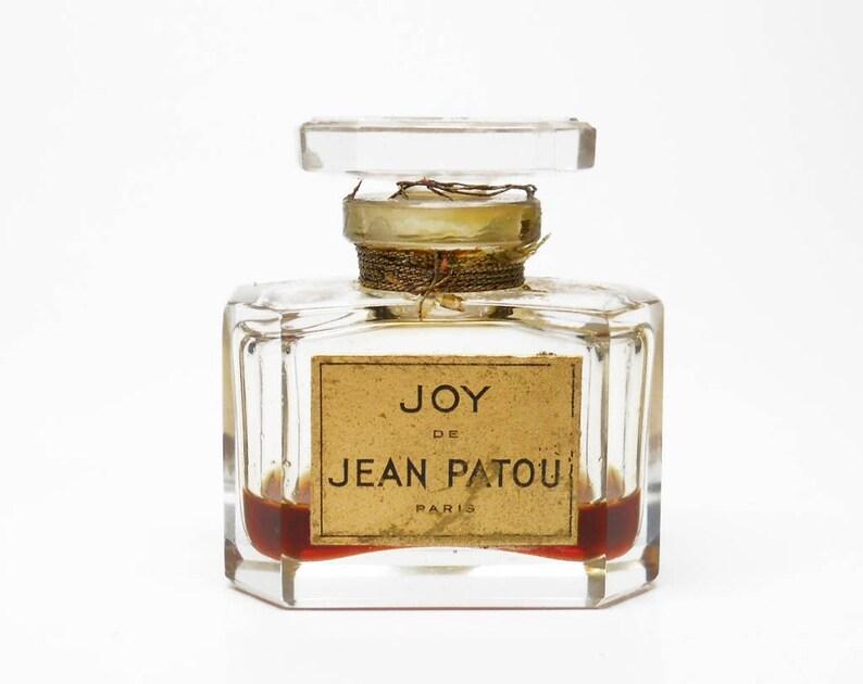 Sale Vintage 1940s Joy De Jean Patou Parfum Paris France Etsy