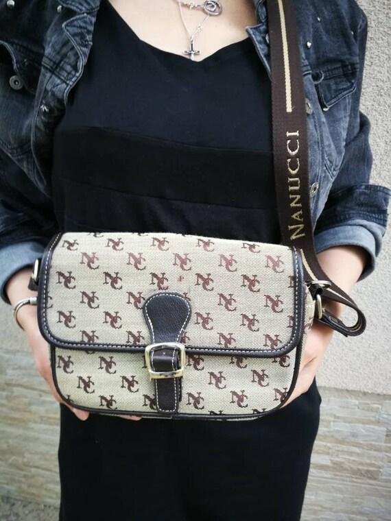 Beige and brown Messenger & Shoulder Bags Women's