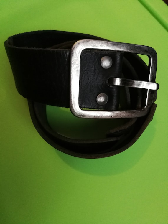 Vintage COOLCAT BELT, Genuine leather Vintage leat