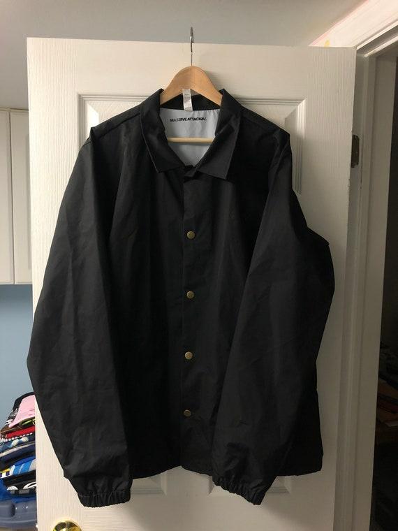 MASSIVE ATTACK Coaches Jacket Size XL Mezzanine XX