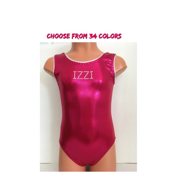 1b9963d4c717 Personalized Leotard for Gymnastics or Dance Choose from 32