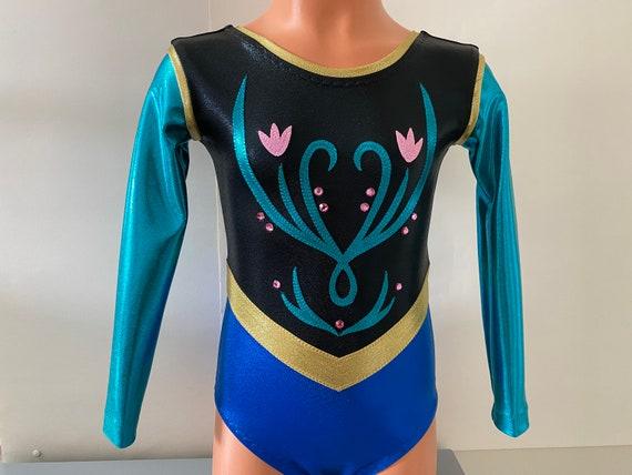 3T Metallic Nylon Lycra Sizes: 2T Dance Leotard Gymnastics Leotard Girls 4-16 XL Adult XS