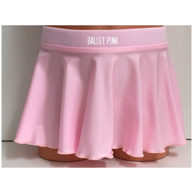 Adult XS Girls 4-16 Ballet Skirt Dance Skirt XL 25 Colors 3T Nylon Lycra Sizes: 2T