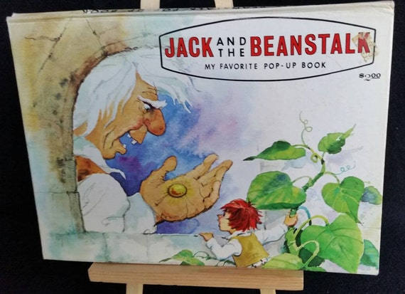 POP UP BOOK Jack And The Beanstalk Modern Promotions