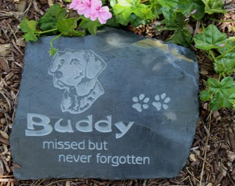 Pet Memorial with Breed Image