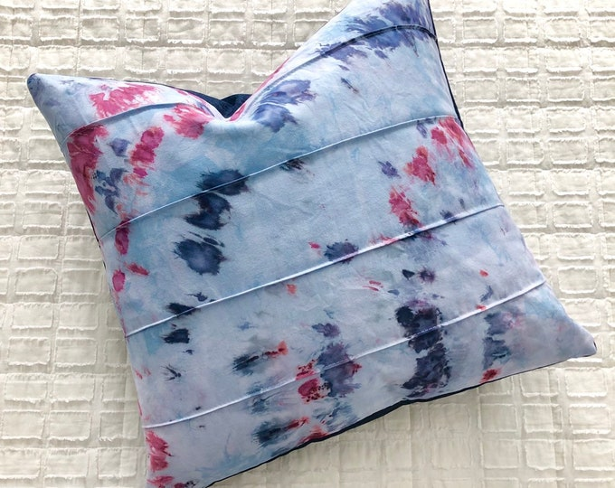 Featured listing image: Hand Dyed Indigo Pillow Cover