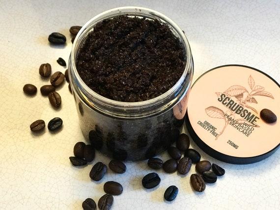 100% Organic Plant Based Coffee Scrub