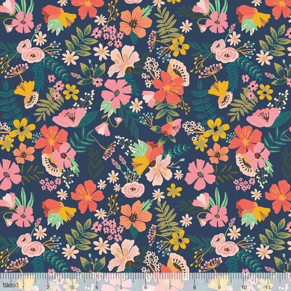 Wilmington Prints-Vintage Tissu par le demi mètre