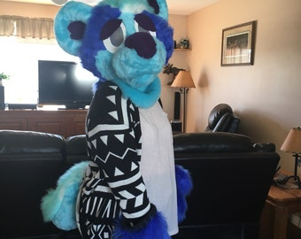 Custom Fursuit Head