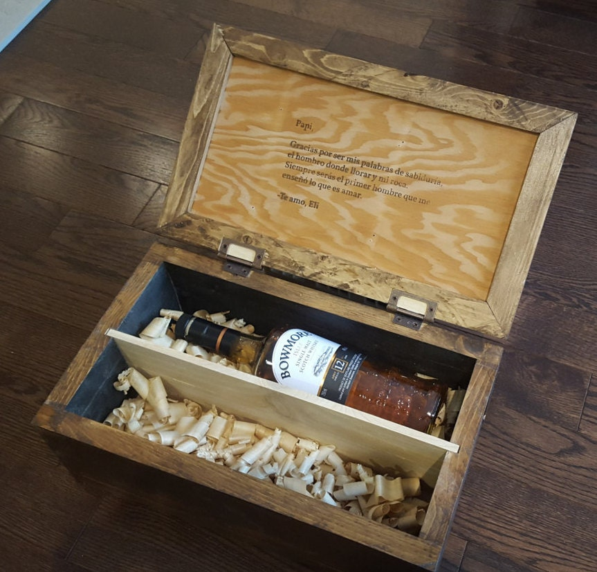 Personalized Wedding Gifts Canada: Personalized Scotch Whiskey Gift Box For Wedding Gift
