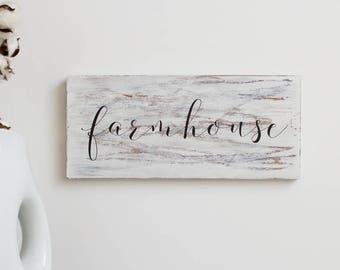 Farmhouse Sign - Rustic Farmhouse Decor - Kitchen Signs - Farmhouse Wall Decor – Rustic Wooden Sign – Housewarming Gift – Rustic Signs