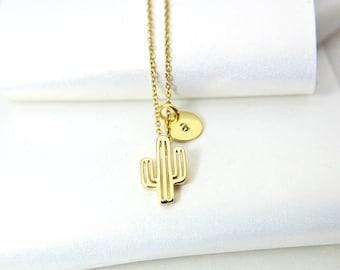 17c7e0430b471 Cactus necklace | Etsy