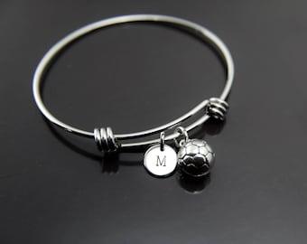 SoccerTeam Gift \u2013 Handmade Wrap Bracelet \u2013 Friendship Bracelet for Soccerl Players or Team MOMS Customized In Your Team Colors!