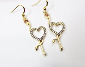 Banana Leaf Flamingo Bird Custom Guitar Pick Pendant Necklace Keychain