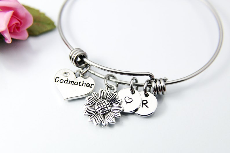 Godmother Request Godmother Proposal Be My Godmother Fairy Godmother Heart Godmother Bracelet Godmother Gift Godmother N1807