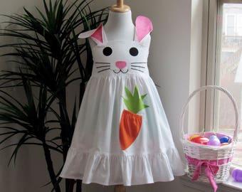Girl Bunny Dress Size 1-8