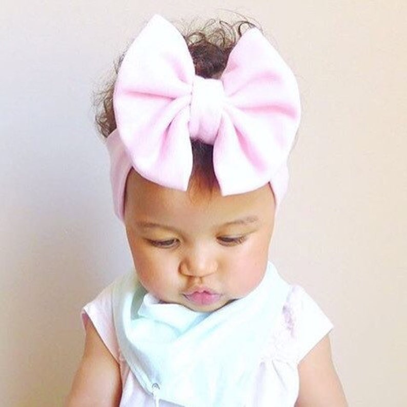 Headband Headwrap for Baby Toddler /& Girls even Adult Women Pink Red Blue