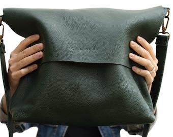 Leather Crossbody bag. Leather bag. handmade leather bag. UN The Original.