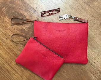 fd387cf6a1 Leather clutch