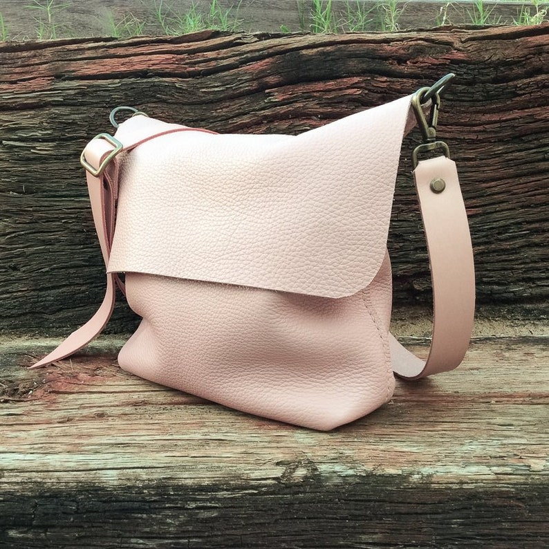 Leather Crossbody bag Leather bag Now you can add a short image 0