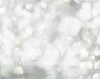 Download Free Silver Sparkling Photoshop Overlay Bokeh Styled Stock Photo Flat Lay Mockup Photography Social Media Template Branding Blog Instagram PSD Template