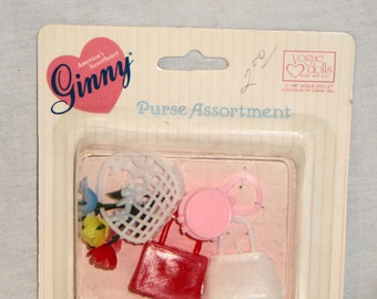Vogue Dolls Ginny Purse Assortment Never Removed From Packaging