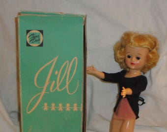 Vintage Vogue Jill Doll in Original Outfit and Box