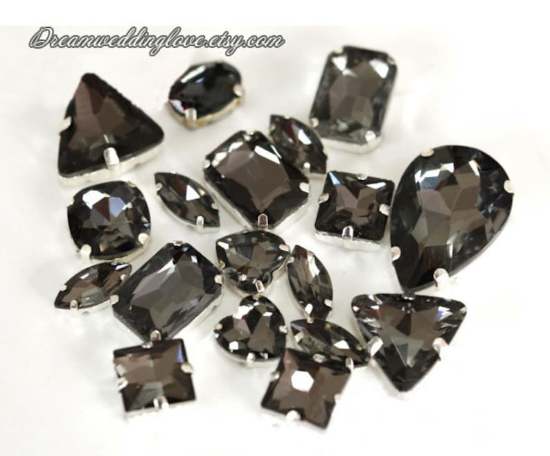 14mm Crystal Glass Diamond Colorful Octagonal Beads Wedding Party Home Decor
