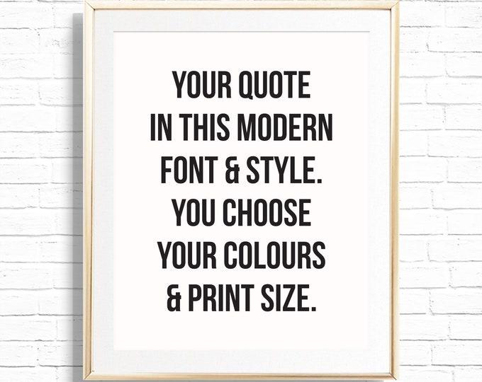 personalized prints