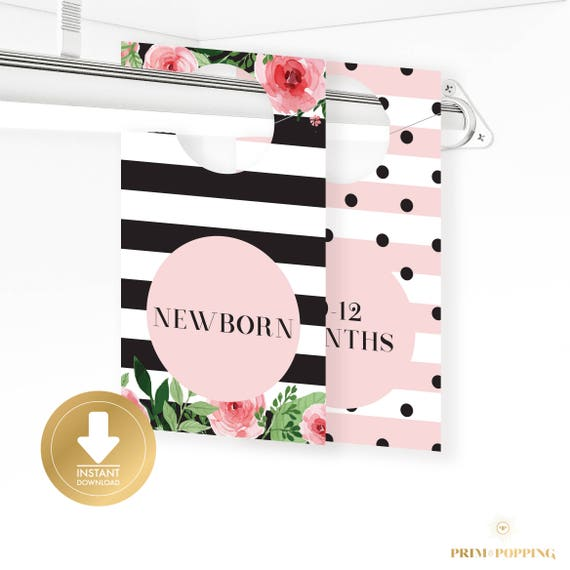 Kate Spade Inspired Baby Closet Dividers Baby Clothes Divider