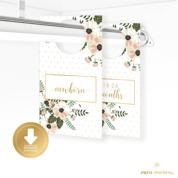 Printable Baby Closet Dividers Part - 16: Il_570xn