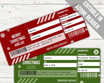 Boarding Pass Etsy