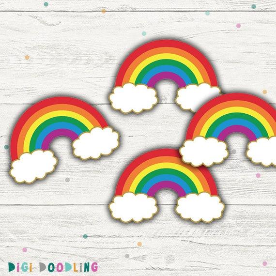 photograph regarding Printable Rainbow identify Rainbow Cupcake Toppers. (Rainbow Bash Decor). Printable. Instantaneous Down load.