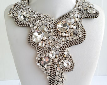 Statement necklaces, Strass necklaces, Stunning necklaces, Belle necklace, Statement, Collar necklaces, Jewel necklaces with Swarovski IV261