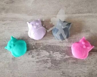 Owl silicone bead