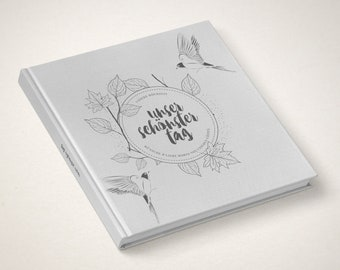 Wedding-Guestbook» Our most Beautiful day «